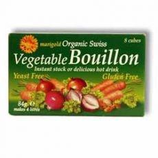 Marigold Org Veg Bouillon Yeast Free 8 Cubes - CLF-MRG-5970