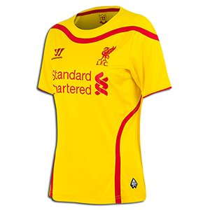 Warrior Liverpool Ladies Away Jersey 14 15 by Warrior