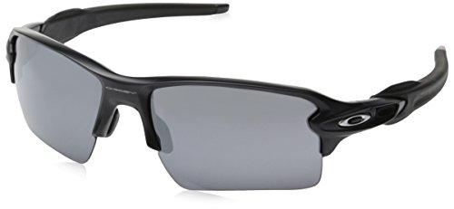 Oakley Men's Flak 2.0 XL OO9188-01 Rectangular Sunglasses, M