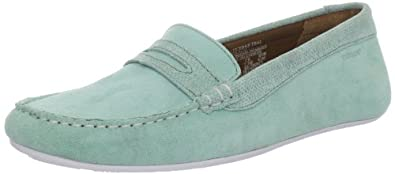 Sebago Women's Lucerne Loafer,Teal,5.5 M US