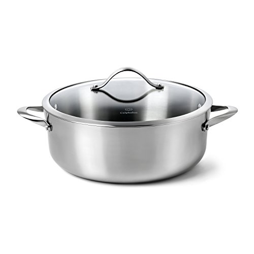 Calphalon Contemporary Stainless Steel 8-Quart Dutch Oven with Cover (Calphalon 8 Stainless Steel compare prices)