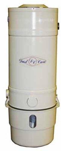 Dust Care Dcc-4P Central Vacuum System, 7 Gallon Capacity, 1600W, 14.4 Amp, 120V, 103 Cfm Airflow front-412421