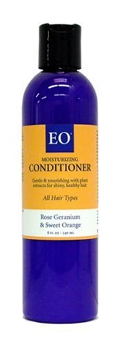 Buy EO Mild & Refreshing Conditioner for All Hair Types, Rose Geranium & Sweet Orange, 8-Ounce Bottles (Pack of 3) (EO Hair Conditioners, Conditioners)