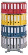 reef-r2081b5-ordnersaule-81-cm-durchmesser-5-etagen-gesamtdrehbar-grau