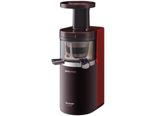 SHARP juicepresso スロージューサー レッド系 EJ-CP10A-R