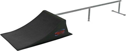 skateboard ramp with grind rail $ 59 99 buy from amazon bmx skateboard