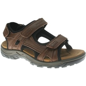 Spring Step Men'S Brown Leather Domain 44 M Eu front-771129