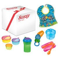SASSY BABY'S FIRST FEEDING SET- MEALTIME ESSENTIALS