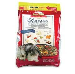 L/M Animal Farms SLM02286 6-Pack Bonanza Rabbit Gourmet Diet Food, 4-Pound