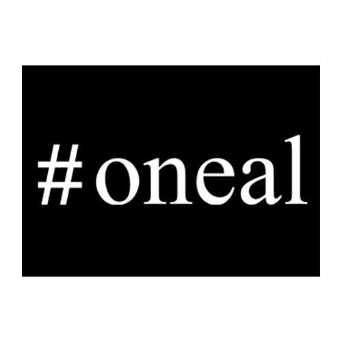 Teeburon #Oneal Hashtag Packung mit 4 Aufkleber