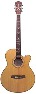 Granada Acoustic Guitar Grand, Concert Cutaway, Natural available at Amazon for Rs.9000
