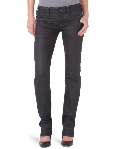 Freeman T.Porter - Jeans slim, donna, nero (Noir), 44/46 IT (31W/32L)