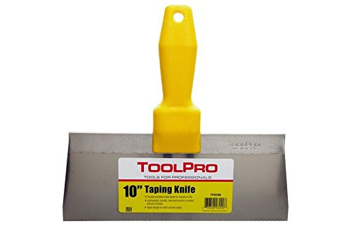 """ToolPro 10"""" Stainless Steel Taping Knife"""