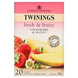 Twinings Strawberry & Mango Infusion (20 bags)by Twinings