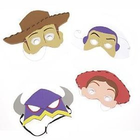 Toy Story Print Off Masks