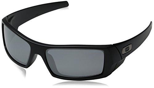 Oakley Mens GasCan Sunglasses 12-856, Matte Black Frame/Black Polarized Iridium Lens (Gas Can Sunglasses compare prices)
