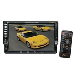 Lanzar Sd76Mubt 7-Inch Tft Touch Screen Dvd/Vcd/Cd/Mp3/Cdr/Usb/Am/Fm/Rds Receiver With Bluetooth System