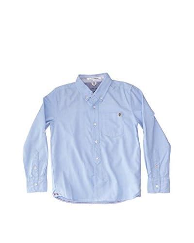 Pepe Jeans London Camicia Casual Ezra [Blu]