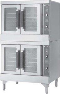 Vulcan Hart S/S Double Deck Gas Convection Oven