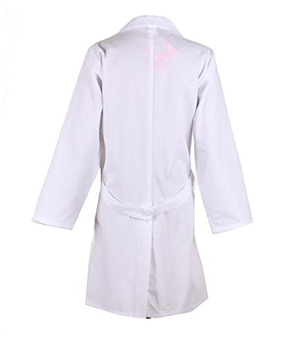 g med unisex solid button up lab coat with pockets sizes. Black Bedroom Furniture Sets. Home Design Ideas