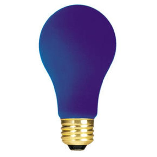 Bulbrite 160360 60W Ceramic Blue A19 Bulb (Blue Light Bulb compare prices)