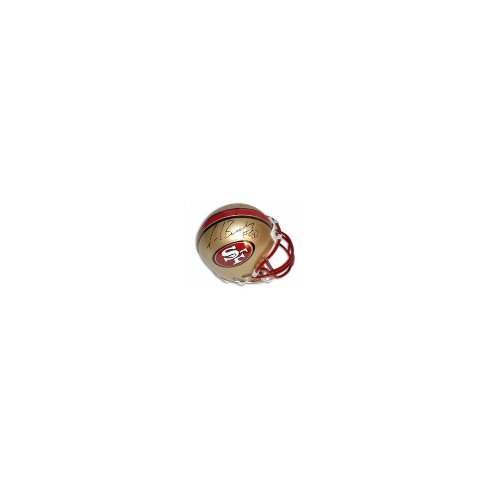Fred Beasley Autographed San Francisco 49ers Mini Football Helmet