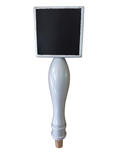 Chalkboard Beer Tap Kegerator Handle - Silver - 11