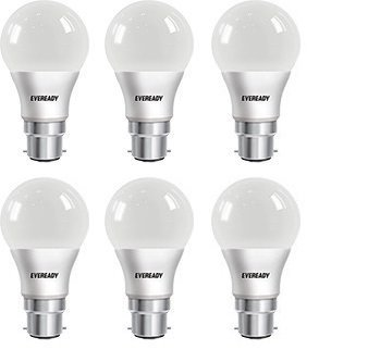9W Cool Day Light 900 Lumens LED Bulb (Pack of 6)
