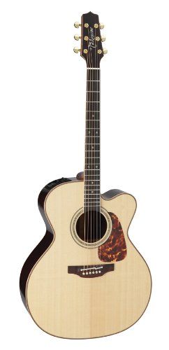 Takamine Pro Series 7 Jumbo Body Acoustic Electric Guitar With Case