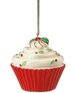 Lenox Christmas Ornament, Christmas Cupcake
