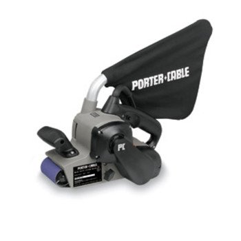 Factory-Reconditioned PORTER-CABLE 352VSR 8 Amp 3-Inch-by-21-Inch Variable Speed Belt Sander with Cloth Dust Bag