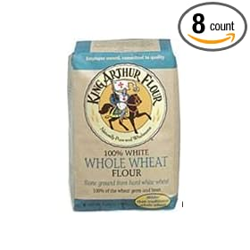 King Arthur Multipurpose White Whole Wheat Flour 5 Pound