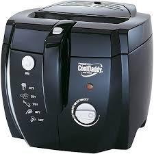 Cool Daddy Cool Touch Deep Fryer Adjustable Thermostat Lets You Select the Desired Temperature, and the Indicator Light (Deep Fryer Presto Cool Daddy compare prices)