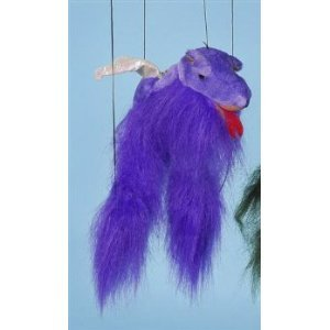 Magical Dragon (Purple) Small Marionette by Sunny Puppets