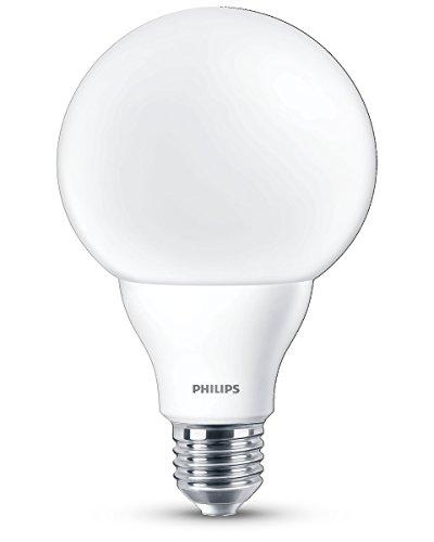 Philips LEDGL10G93B1 Lampadina LED a Globo, 60W, E27, WW, 230V, G93, ND/4