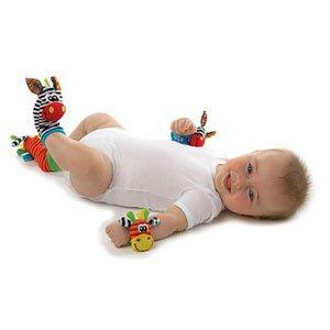 Playgro - Sonajero de pies y manos, diseño de selva (0183077) de Playgro