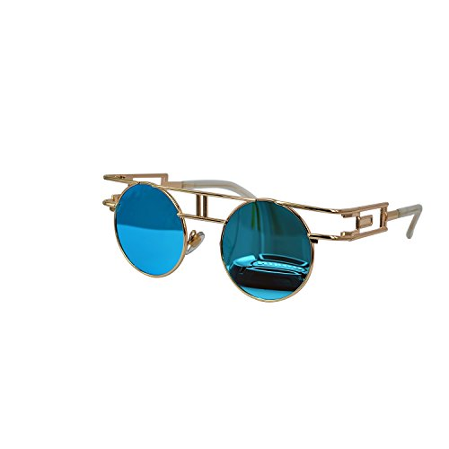 Ucspai-Gothic-Steampunk-Glasses-Sunglasses-in-Blue-Reflective-Lens