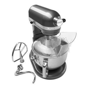 KitchenAid Professional 600 Series 6-Quart Stand Mixer KP26M1XQpm 6 Quart Pearl Metallic Large 10-speed Very Dark Grey beautiful color. (Kitchenaid Hand Mixer Grey compare prices)