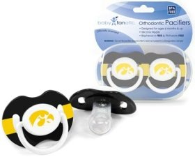 Buy Iowa Hawkeyes Pacifier - 2 Pack, Catalog Category: NCAA