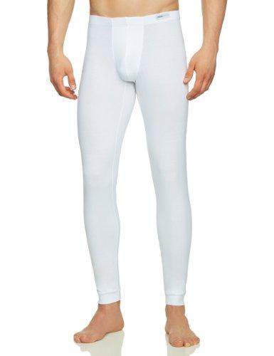 HOM Herren Lange Unterhose 10080325 First Cotton LL, Gr. 6 (L), Weiß (WHITE - LIGHT COMBINATION M015)