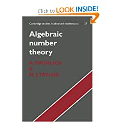 Algebraic Number Theory (Cambridge Studies in Advanced Mathematics)