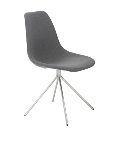 Eurostyle Dax Side Chair, Gray