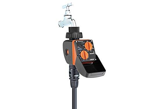 Claber 8423 aquauno select nero arancione grigio for Claber timer irrigazione