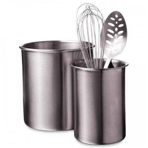 Focus Products, Amco HW LG SS Utensil Holder (Catalog Category: Kitchen & Housewares / Cookware & Bakeware)