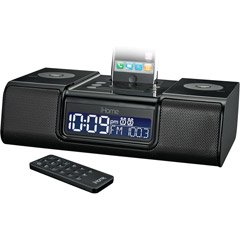 iHome iP9BR Clock Radio for iPod, iPhone (Black)