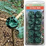 #7: Flexi Build Balls Cane Joiners (10 Pack) for DIY Fruit Cages, Cloches and Tunnels