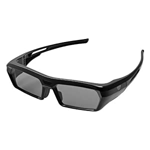 Universal 3D Glasses by Blick (with Active Sync Smart Technology, Prescription Eyewear Friendly, IR Signal, Rechargeable Battery) by Blick