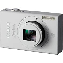 Canon PowerShot ELPH 530 HS Digital Camera (White)