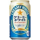 サッポロ クリーミーホワイト 350ML × 24缶