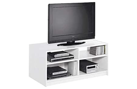 Maine Modular TV estante - blanco